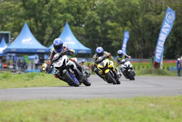 Ini Hasil Yamaha Cup Race 2018 Seri 1 Region Sumatra, Kelas Aerox 155 Seru!