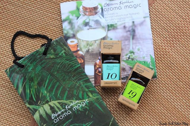 Blossom Kochhar Aroma Magic Essential Oils