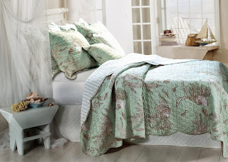 Greenland Home Bora Bora Bonus Quilt Set, Full/Queen