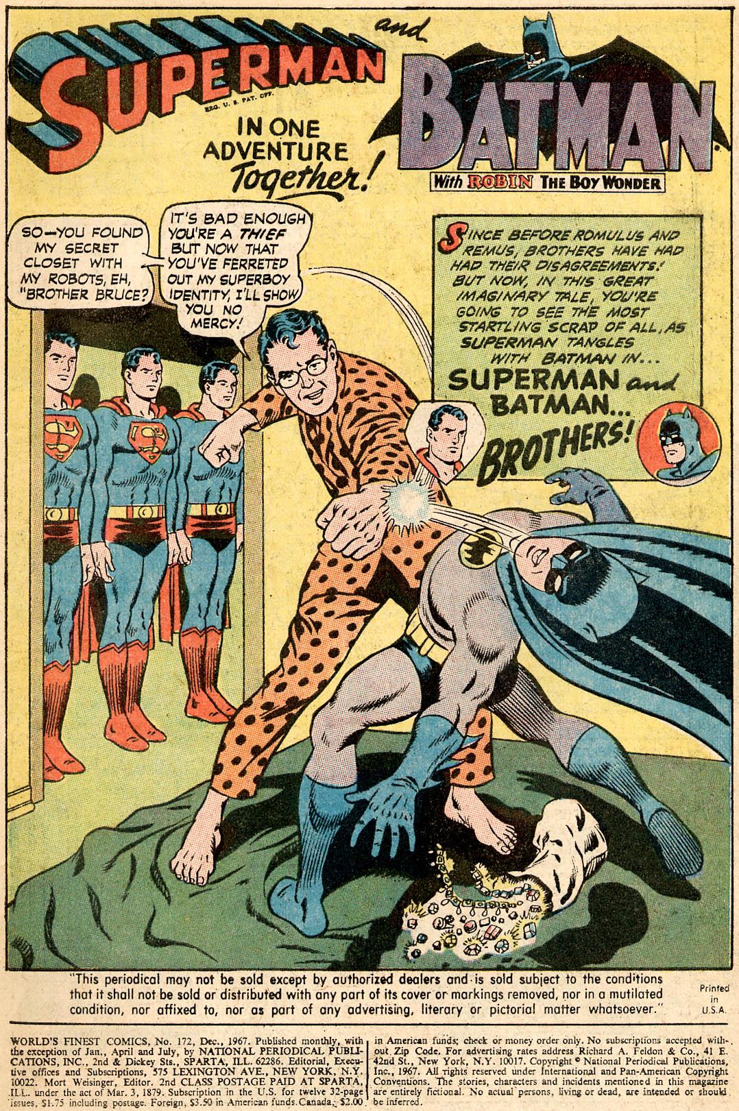 Read online World's Finest Comics comic -  Issue #172 - 3
