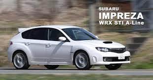 スバルのWRX STI A-line