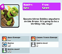 Clash Royale goblin barrel card pic