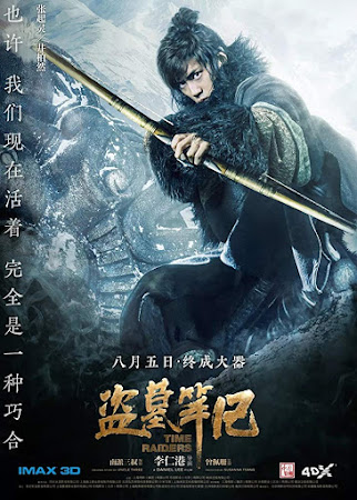 Poster Of Time Raiders In Dual Audio Hindi Chinese 300MB Compressed Small Size Pc Movie Free Download Only At worldfree4u.com