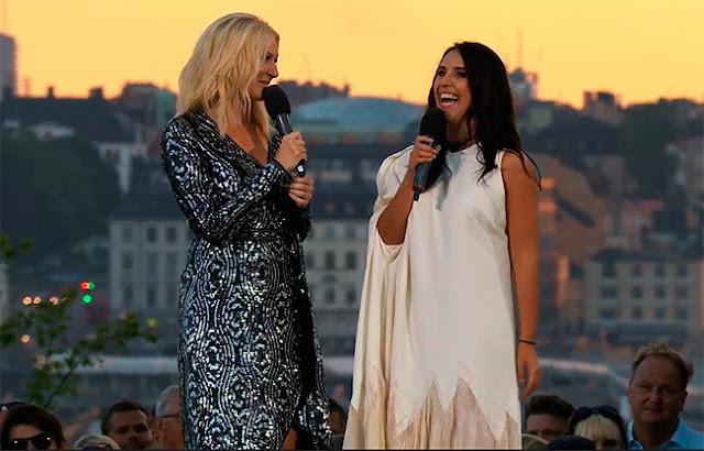 Sanna Nielsen y Jamala (Photo: SVT)