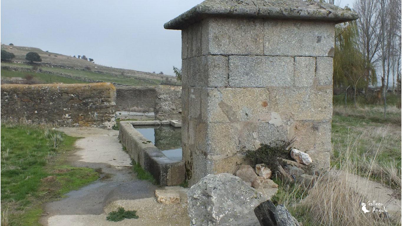 Vista del caño de Montejo