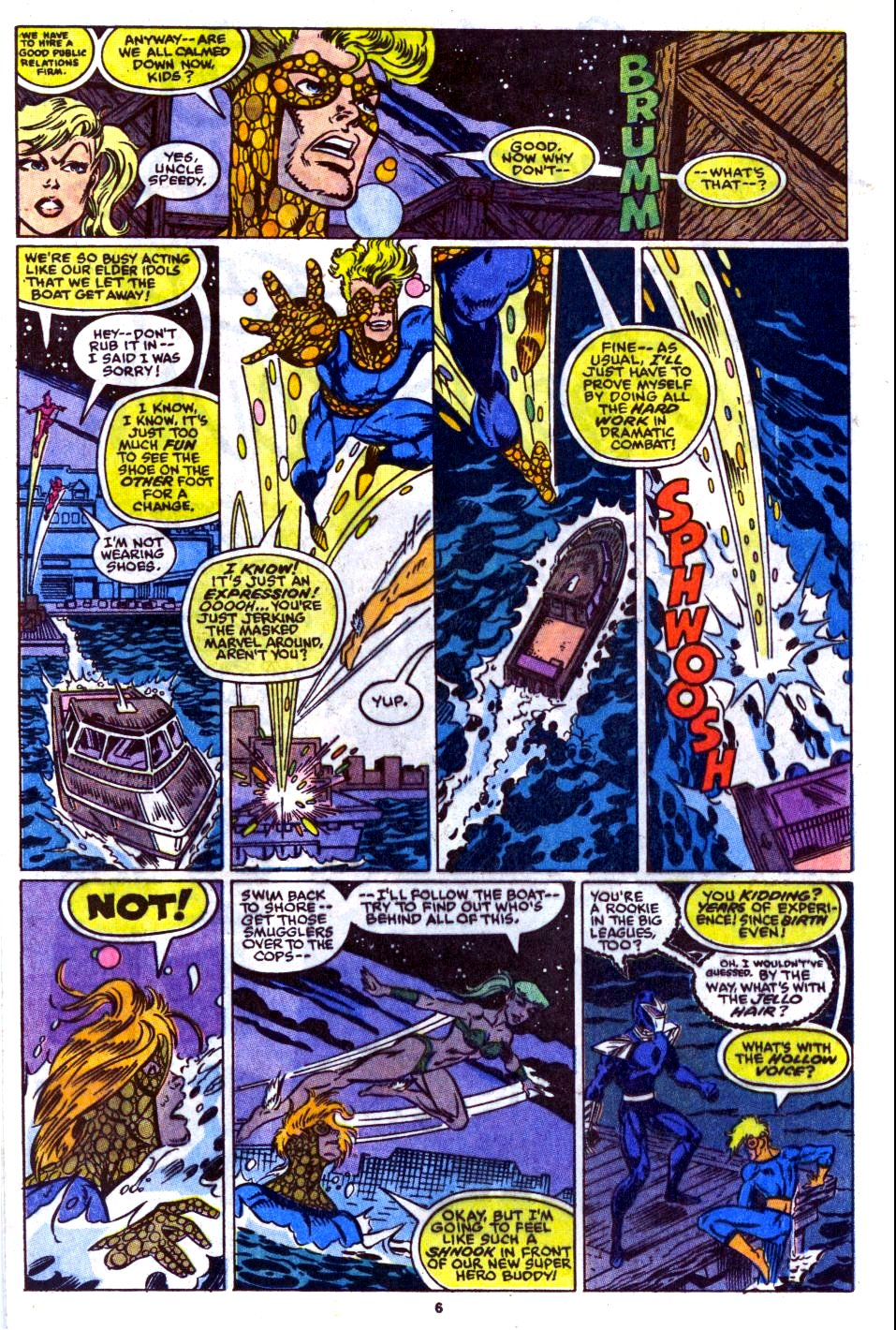 The New Warriors Issue #14 #18 - English 6