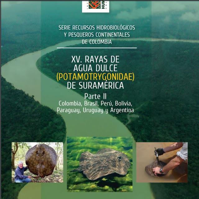 Livro sobre raias de água doce da América do Sul teve colaboração dos Pesquisadores da Unesp de Registro-SP