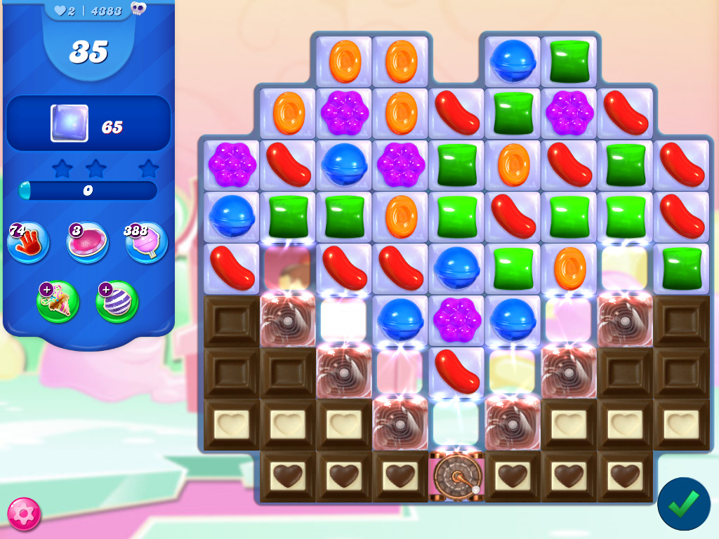 Candy Crush Saga level 4383