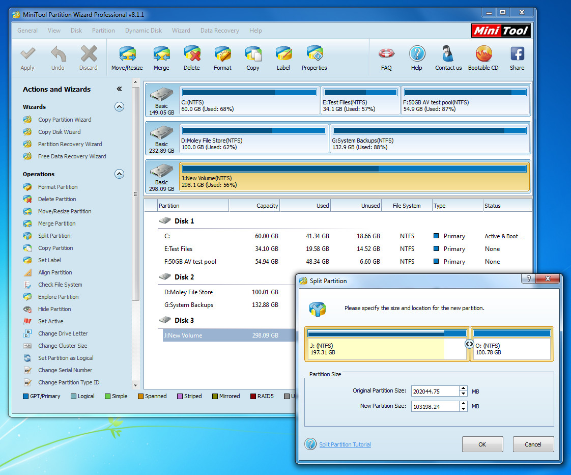 Minitool Partition Wizard 8 1 Full