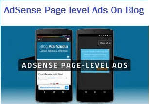 How to add Adsense page-level ads