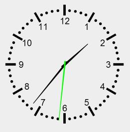 Canvas Clock