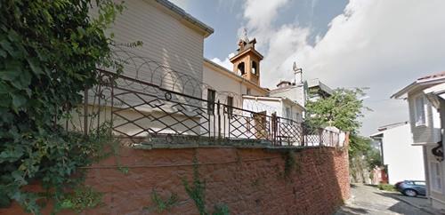 Kandilli Armenian Church, ISTANBUL. Surp Yergodasan Arakelots Church Kuzguncuk Istanbul Turkey