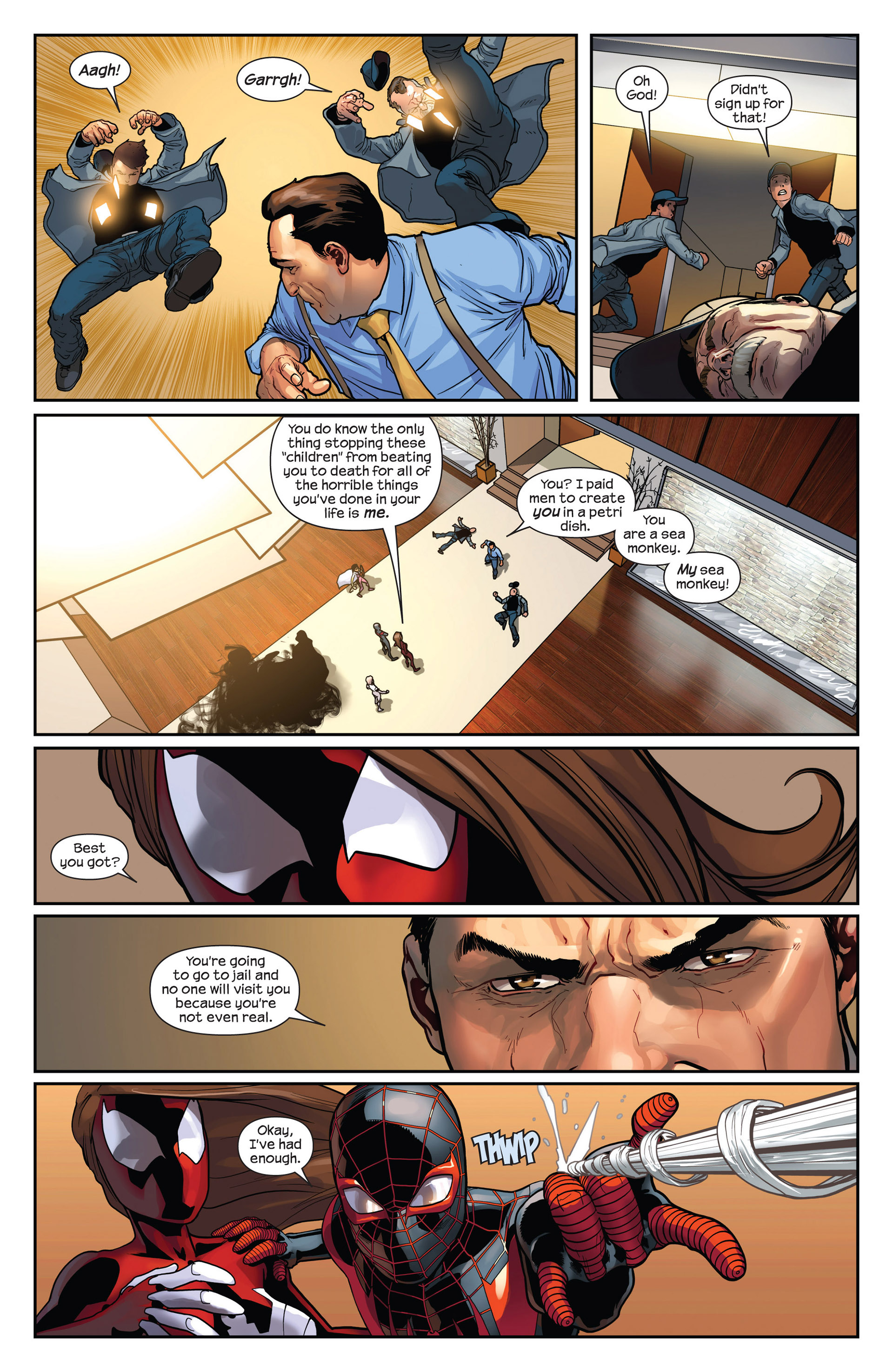 Read online Ultimate Comics Spider-Man (2011) comic -  Issue #28 - 7