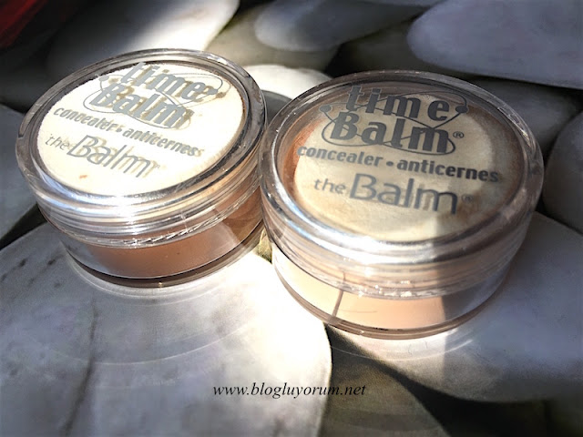 the balm time balm concealer kapatıcı lighter than light dark