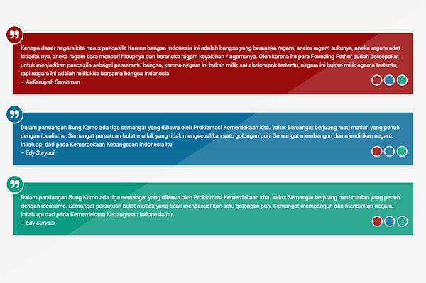 Cara Membuat Quote Box Yang Berubah-ubah Warna di Blog