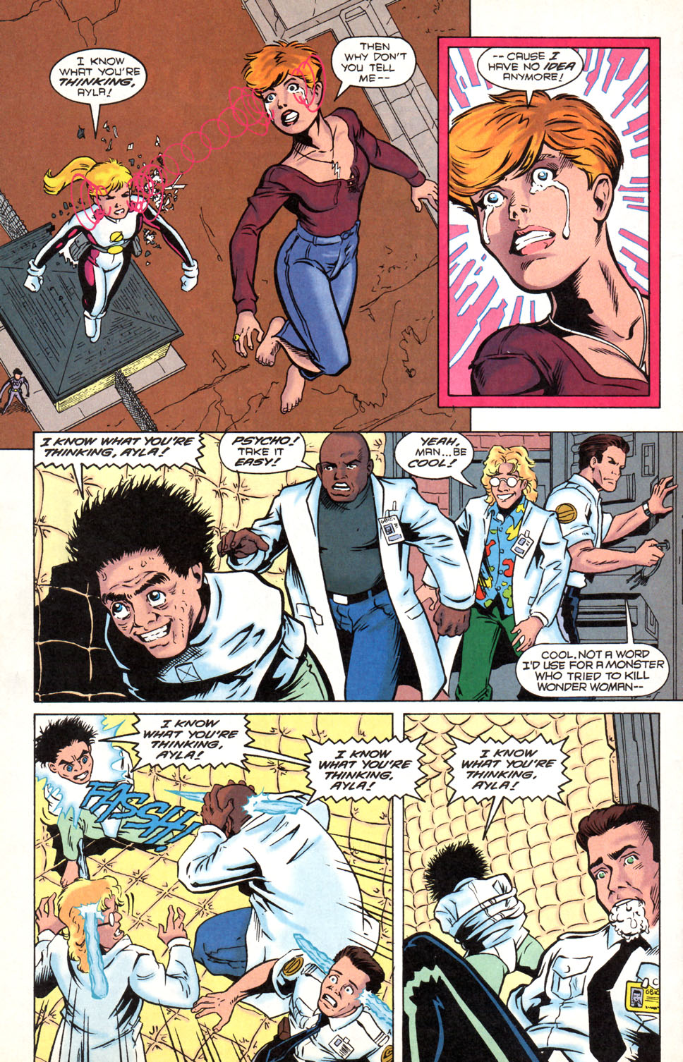 Legion of Super-Heroes (1989) 89 Page 18