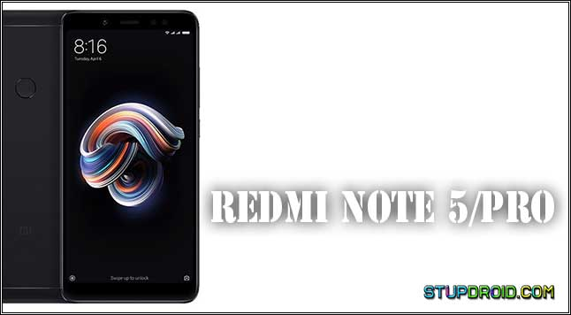 How to Install Stock ROM/Flash File Xiaomi Redmi Note 5 Pro