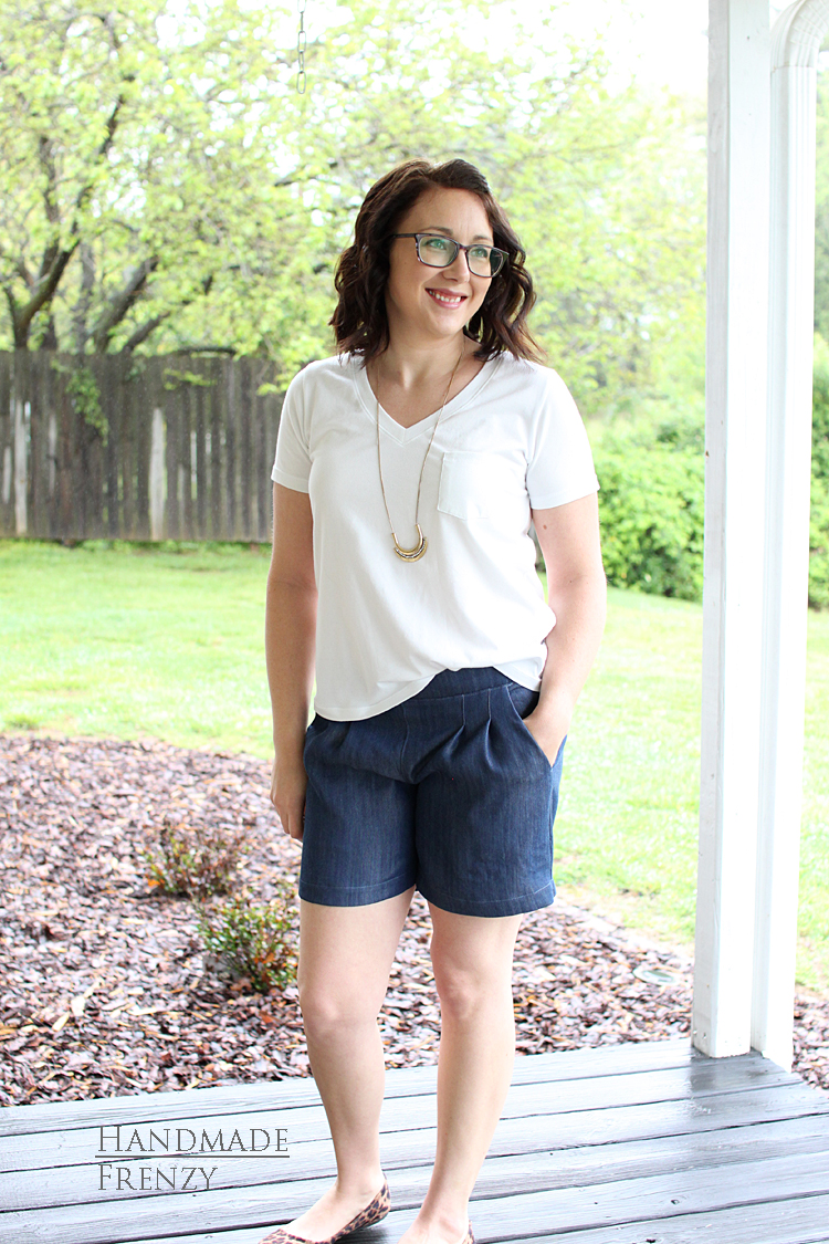 Back To Basics // Sewing For Women // Hey June Union St Tee // Emerson Shorts