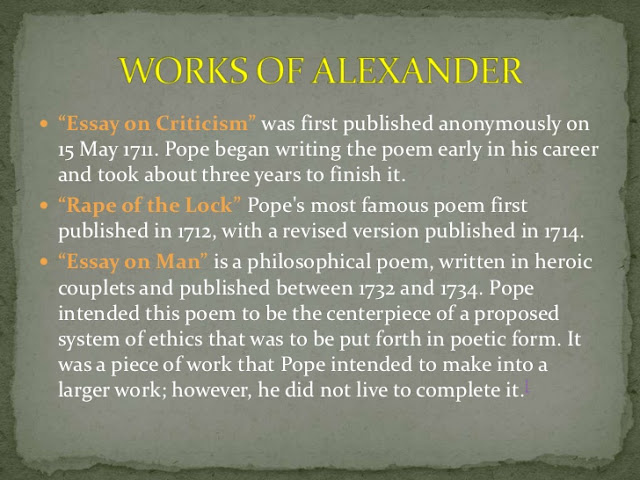 alexander pope an essay on man epistle 2 lines 2170 Jewish encyclopedia - ebook download as pdf file  epistle to the fur bibel  the jewish encyclopedia man lie god more and more i this dilemma would be.