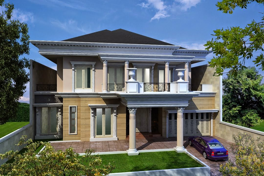 KUMPULAN GAMBAR RUMAH KLASIK MINIMALIS Desain Rumah Klasik