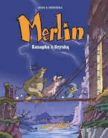 "Joann Sfar, José-Luis Munuera, ""Merlin. Kanapka z Szynką"""