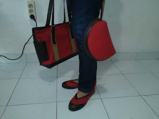 pelatihan membuat tas dan sepatu kain