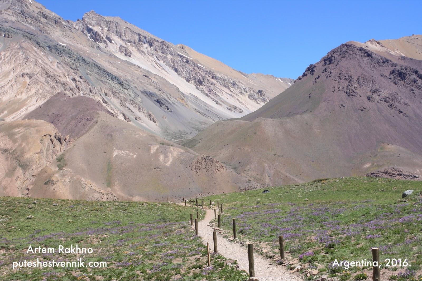 Тропа в Аргентине