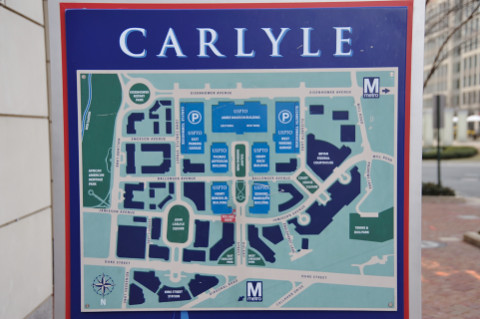 Carlyle district map