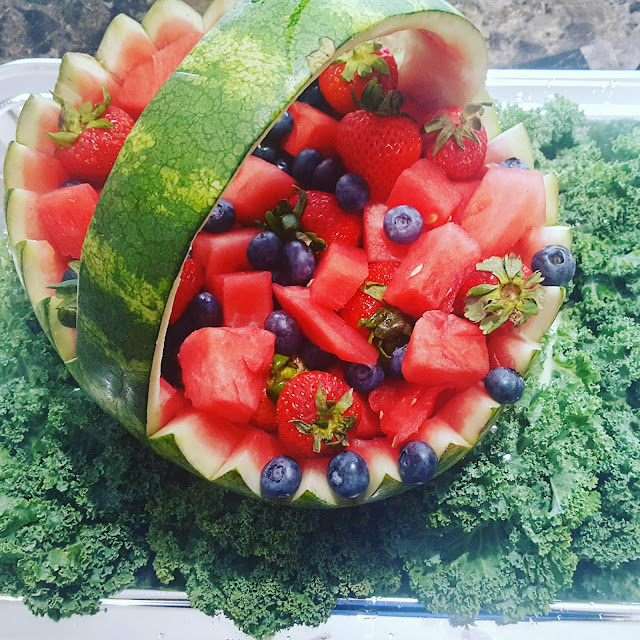An Amazing Watermelon Basket