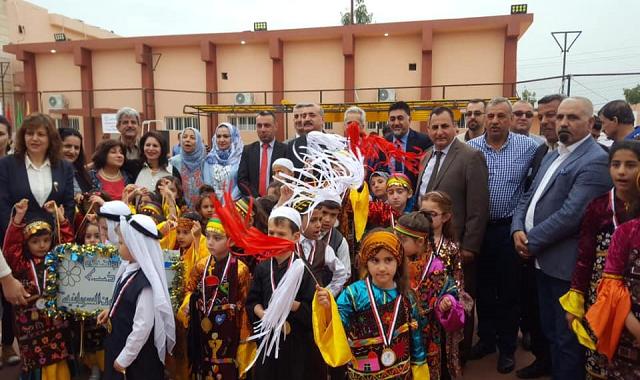 مهرجان الأقليات الأول الرياضي والفني على أرض سهل نينوى