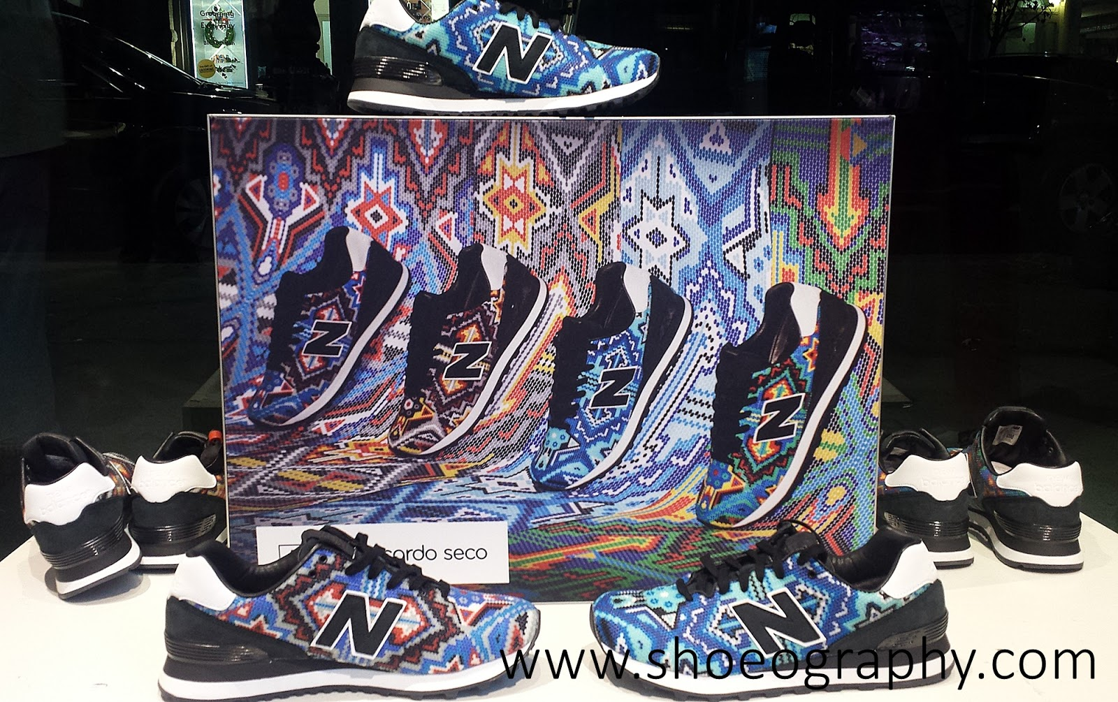 new concept ec1d3 c38fb Ricardo Seco x New Balance 574 Sneakers | SHOEOGRAPHY