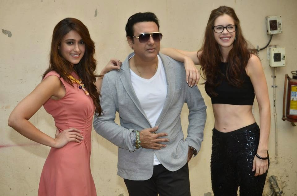 Ileana D'Cruz, Govinda and Kalki Koechlin at Happy Ending Photoshoot