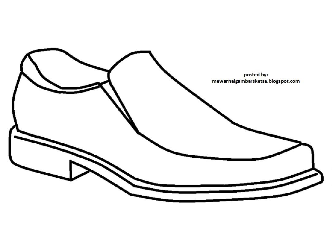 Kumpulan Gambar Sketsa Sepatu Guru