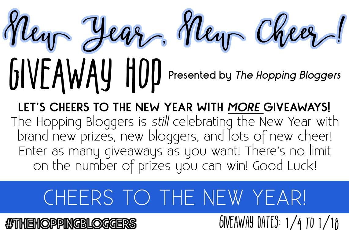 New Year, New Cheer Giveaway Hop - Sara Riouch