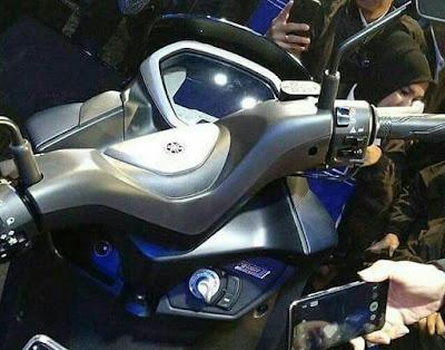 Keyless System di Yamaha Lexi 125