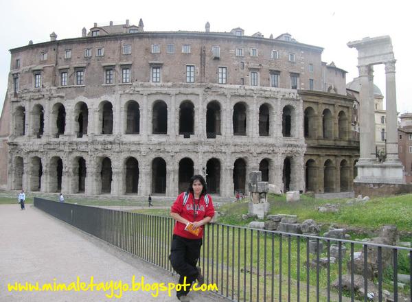 Teatro de Marcelo en Roma