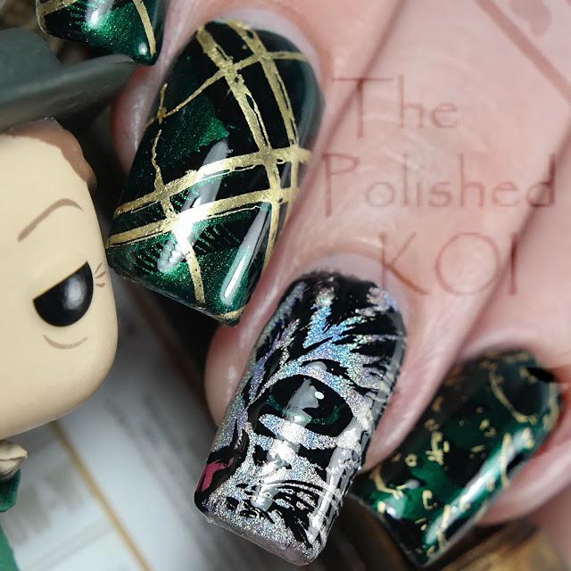Professor McGonagall Nail Art