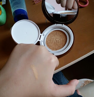 Review Missha Line Brown Magic Cushion