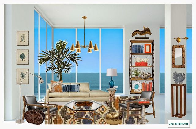 transitional eclectic modern coastal contemporary edesign interior design