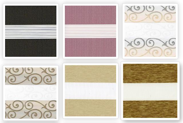 Ткани коллекции «Зебра» для рулонных штор