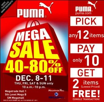 Manila Shopper  Puma Mega SALE at Megatrade Hall 47095c153