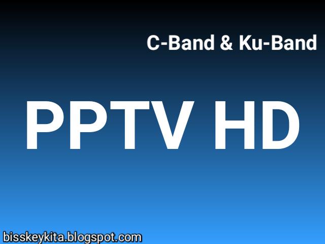 Biss Key PPTV SD Mpeg2 C-Band dan Ku-Band Terbaru