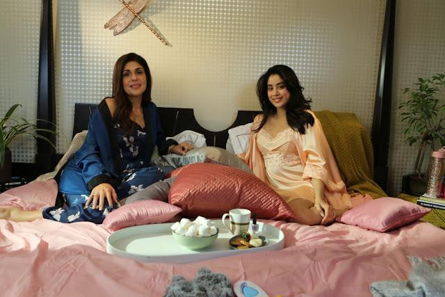 Feet Up with the Stars on Voot - Anaita Shroff Adajania with Janvhi Kapoor