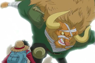 One Piece - Episódio 754 - Começa o Combate. Luffy Vs Tribo Mink!