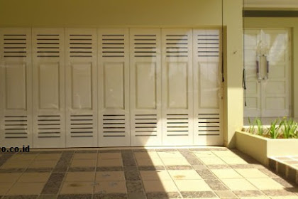 Jasa Pembuatan Pintu Garasi Besi di Pondok Cabe