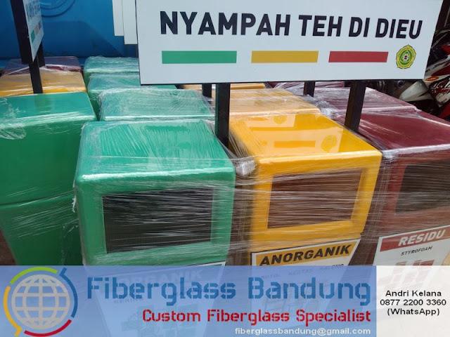 daftar harga tong sampah fiber di bandung