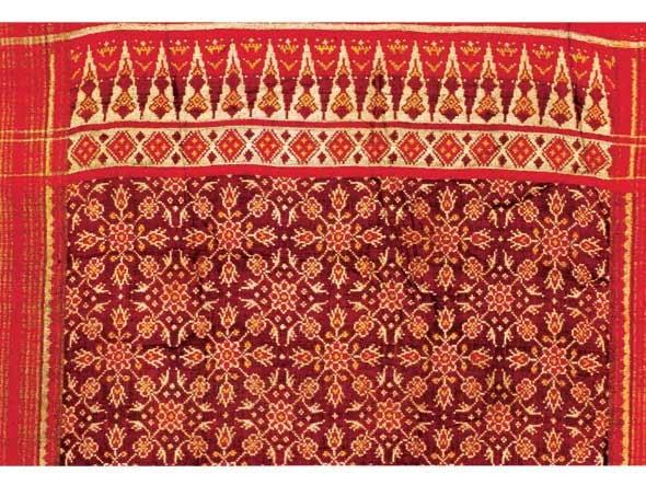Batik Pesisir Motif India Batik Tradisional Indonesia