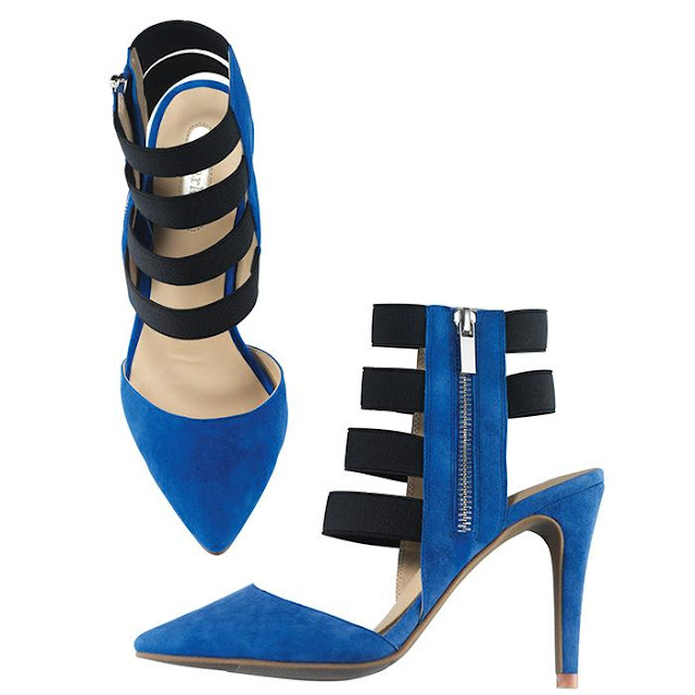 mark. By Any Stretch Pumps