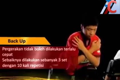 Back up, gerakan olah raga penunjang untuk memperkuat otot pinggang