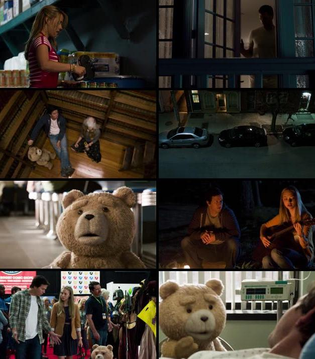 Ted 2 (2015) Dual Audio Hindi 480p BluRay 300mb